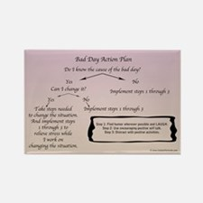Bad Day Action Plan Magnets