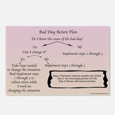 Bad Day Action Plan Postcards (package Of 8)