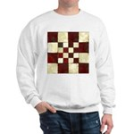 Cracked Tiles - Red Sweatshirt