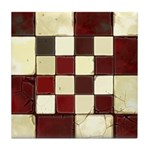 Cracked Tiles - Red Tile Coaster