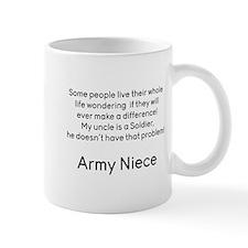Army Niece No Problem Uncle Mugs