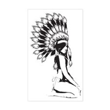 Pow Wow Hottie Decal