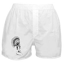 Pow Wow Hottie Boxer Shorts