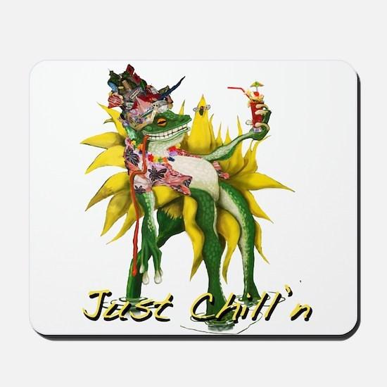 Chilln Frog Design #3 Mousepad