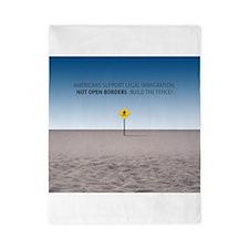 No Open Borders Twin Duvet