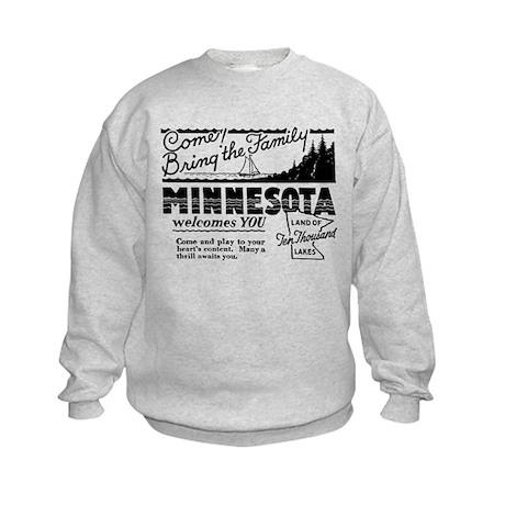 Vintage MINNESOTA Kids Sweatshirt