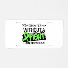 Cure Mental Health Aluminum License Plate