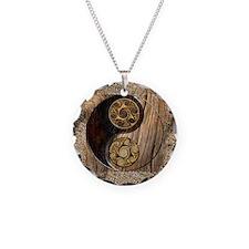 Harvest Moons Celtic Yin Yang Necklace