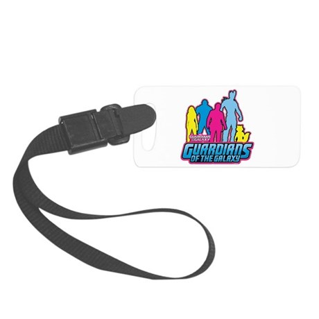 Guardians of the Galaxy 80s Retr Small Luggage Tag