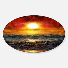 sun down Decal