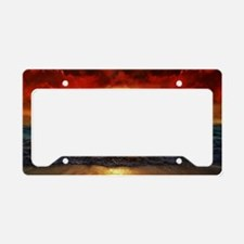 sun down License Plate Holder