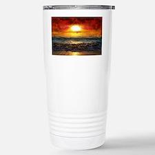 sun down Stainless Steel Travel Mug