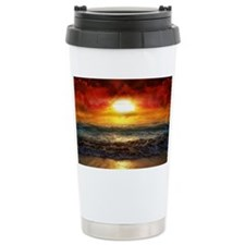 sun down Travel Coffee Mug
