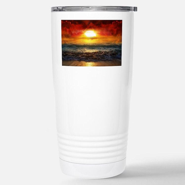 sun down Travel Mug