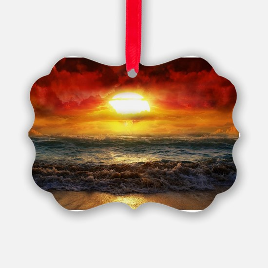 sun down Ornament