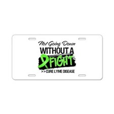 Cure Lyme Disease Aluminum License Plate