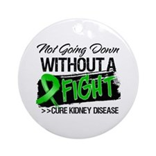 Cure Kidney Disease Ornament (Round)