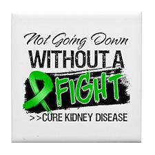 Cure Kidney Disease Tile Coaster