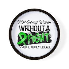 Cure Kidney Disease Wall Clock
