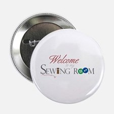"Welcome 2.25"" Button"