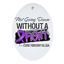 Cure Fibromyalgia Ornament (Oval)