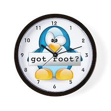 got root? Wall Clock