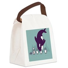 blooper Canvas Lunch Bag