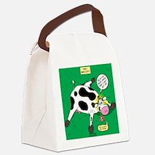 First Moo-lert Canvas Lunch Bag