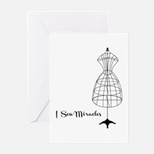 Sew Miracles Greeting Cards
