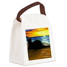 Cat 433 Canvas Lunch Bag