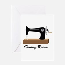 Sewing Room Greeting Cards