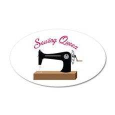 Sewing Queen Wall Decal
