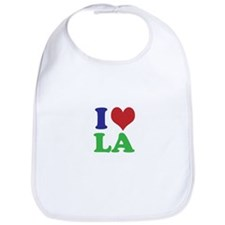 I Heart LA Bib
