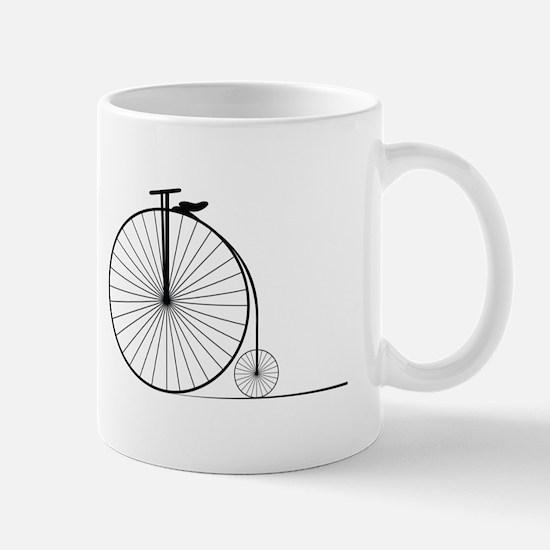 Antique Bike Mugs