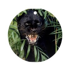 black panther Ornament (Round)