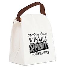 Cure Diabetes Canvas Lunch Bag