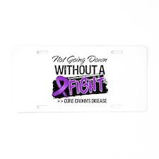 Cure Crohn Disease Aluminum License Plate