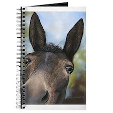 Brown Mule Art by Dawn Secord Journal