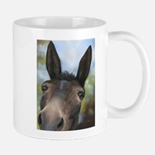 Brown Mule Art by Dawn Secord Mugs