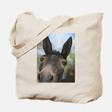 Brown Mule Art by Dawn Secord Tote Bag