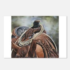 Roping Horse by Dawn Secord Postcards (Package of