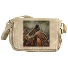 Roping Horse by Dawn Secord Messenger Bag