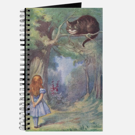 Alice & Cheshire Cat - Journal