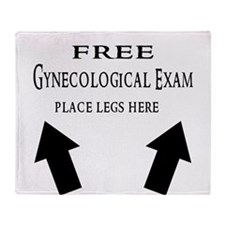 Free Gynecological Exam place legs here Black.png