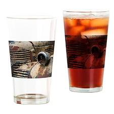 Farm Truck Drinking Glass