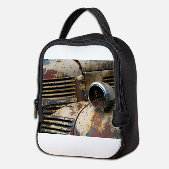 Farm Truck Neoprene Lunch Bag