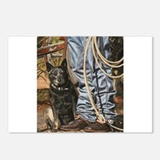 Australian Cattle Dog by Dawn Secord Postcards (Pa