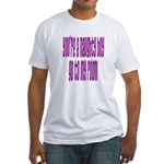 You're a naughty boy Fitted T-Shirt