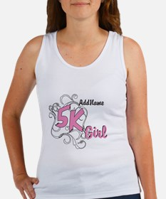 5k Optional Text Women's Tank Top