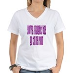 You're a naughty boy Women's V-Neck T-Shirt
